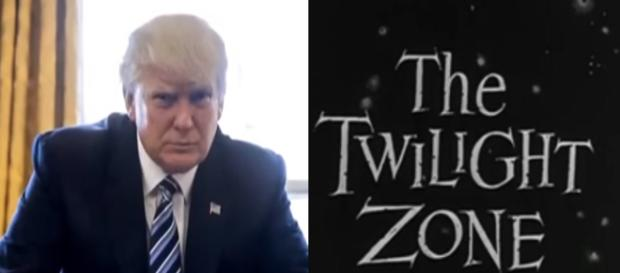 Donald Trump, Twilight Zone, via Twitter