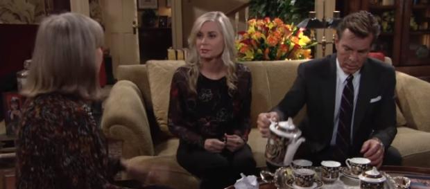 Jack and Ashley take center stage. - [The Young and the Restless / YouTube screencap]