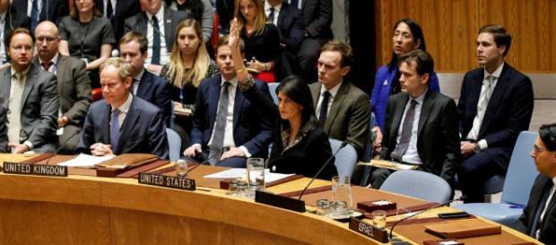 Jérusalem: veto américain à l'ONU sur une condamnation voulue par ... - rfi.fr
