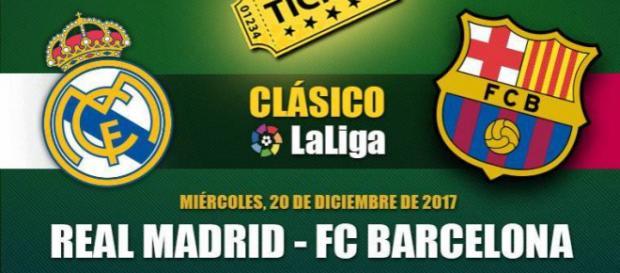 ¡No te lo puedes perder!: Real Madrid vs Barcelona