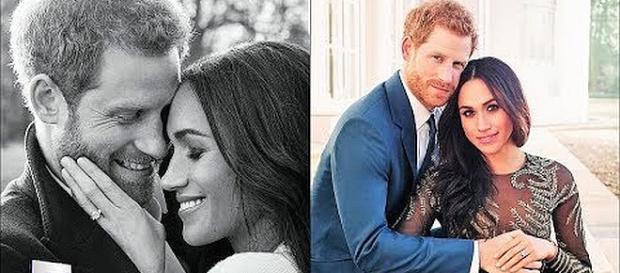 Prince Harry and Meghan Markle's engagement photos [Image: Entertainment News Magazine/YouTube screenshot]