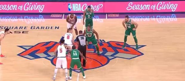 The Knicks posted a nice win against the Celtics on December 21. - [Rapid Highlights / YouTube screencap]