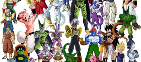 Los villanos de Dragon Ball. - 3djuegos.com