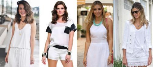 A maioria das pessoas escolhe usar roupas brancas na virada
