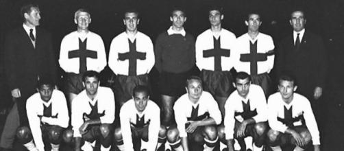 La mista InterMilan che affrontò il Chelsea il 13 ottobre 1965