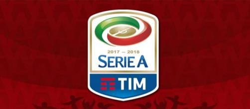 Logo del campionato di calcio di serie A Tim 2017-2018