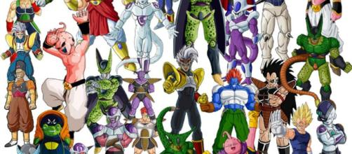 Los villanos de Dragon Ball. - 3djuegos.com