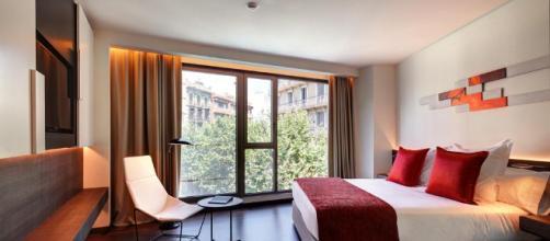 El Hotel Olivia Balmes, situado en Barcelona, España. - booking.com