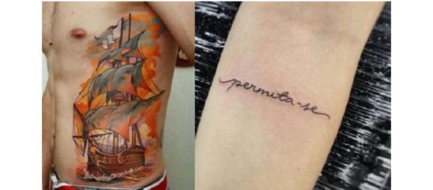 Capricornianos preferem tatuagens discretas
