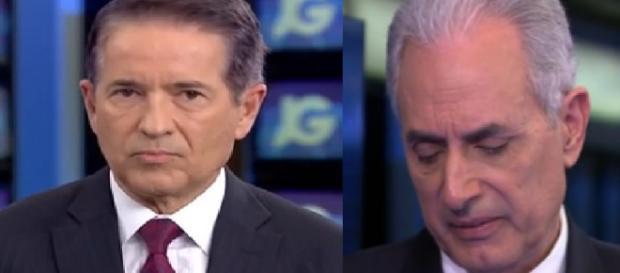 Globo 'humilha' Waack ao vivo em pleno jornal e vídeo surpreende