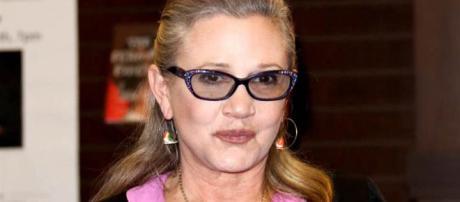 "Carrie Fisher escribió sus propios diálogos en ""Star Wars: The Last Jedi""."