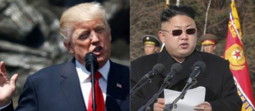 Donald Trump e Kim Jong-un, i due protagonisti della scena politica internazionale nel 2017