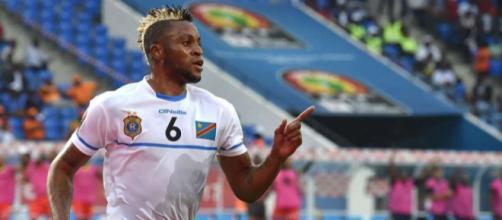 Il calciatore Junior Kabananga