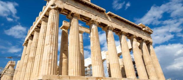 Atenas com os seus cartões-postais maravilhosos
