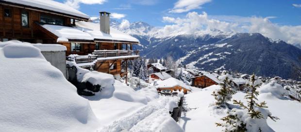 Esatciones de esquí Suizas con más de un metro de nieve