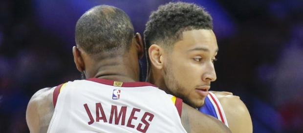 LeBron has high praise for Simmons - (Image: YouTube/76ers)