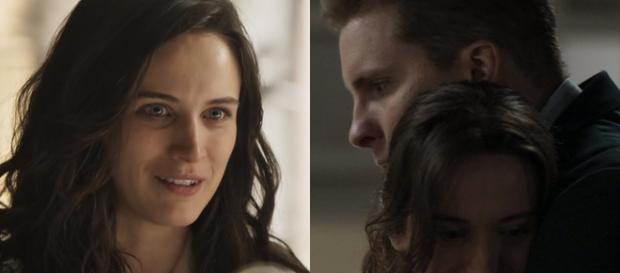 O Outro Lado do Paraíso: Patrick e Clara não resistem e se beijam. (Foto Reprodução).