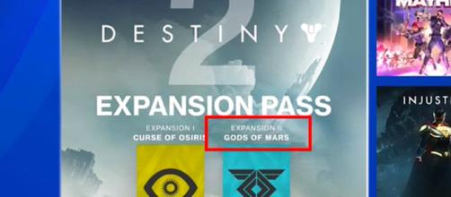 A screenshot of 'Destiny 2's' Expansion Pass - (Image Credit: Unknown Player/YouTube)