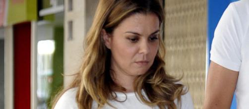 María José Campanario, ingresada de nuevo.