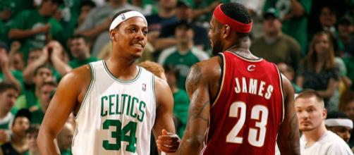 Pierce talks about guarding LeBron - (Image Credit: NBA/YouTube/screencap)