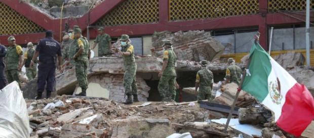 Imagen de archivo, del sismo más fuerte del milenio. El País