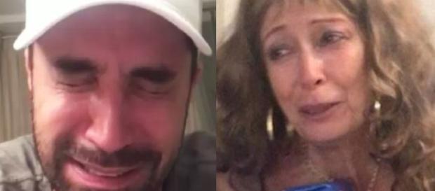 No Natal, cantor e sua mãe tiveram grande reconciliação narrada nas redes sociais.