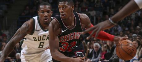 Kris Dunn marcou um duplo-duplo no triunfo de sua franquia.(Imagem:Site NBA)