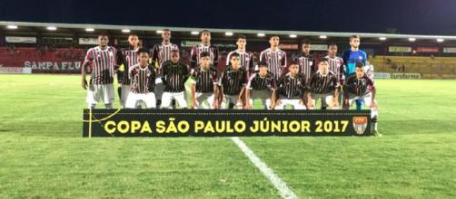 Fluminense estreia dia 3 na Copinha