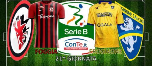 """Foggia e Frosinone si sfideranno giovedì alle 20:30 allo """"Zaccheria"""""""