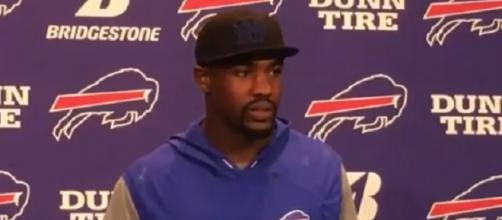 Jerry Hughes issues the accusation after the game ([Image via Nick Wojton/YouTube screencap]