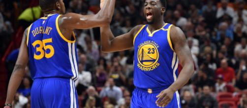 Kevin Durant and Draymond Green had yet another heated exchange ... - usatoday.com
