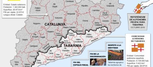 Tabarnia: la comunidad trending topic que no existe