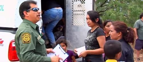 Texas residents fed up with surge of illegal immigrants -- CBS News/YouTube Cap
