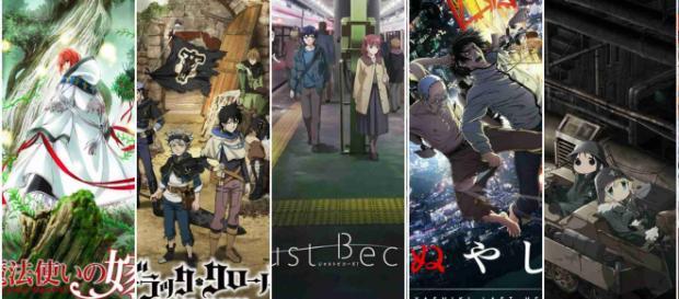 Imágenes promocionales de anime otoño 2017