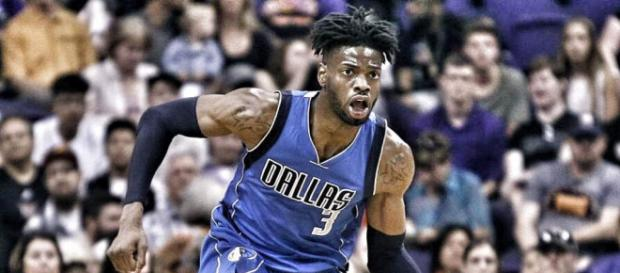 Nerlens Noel is a subject of trade rumors this past few days - [image credit: Hardwood Amino/Youtube]