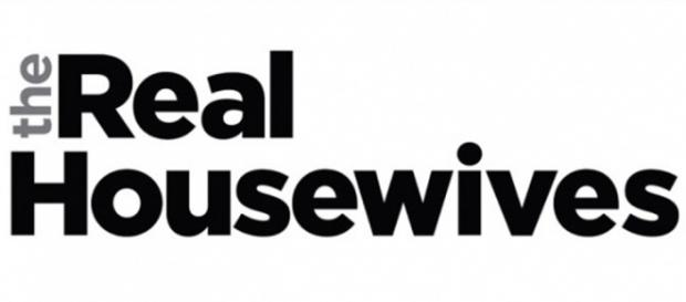 The 'Real Housewives' logo is seen. [Photo via Bravo]