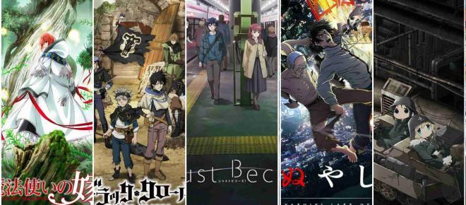Lo mejor de la temporada de anime otoño 2017