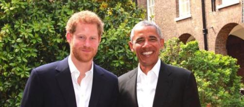 El príncipe Harry recibe a Obama en el Palacio de Kensington - CNN - cnn.com