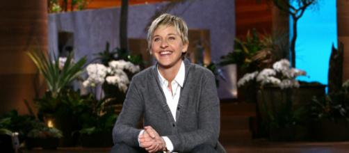 Ellen DeGeneres on the set of her daytime show. [Image via Flickr]
