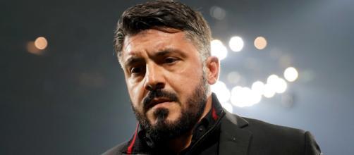 """Gennaro """"Ringhio"""" Gattuso, allenatore dei Rossoneri"""