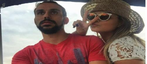 Kelly Key ao lado do marido Mico Freitas. (Foto Reprodução).