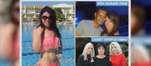 Laura Plummer imprisoned in Egypt on drug smuggling charges. Image credit: 24/7 News/YouTube Channel.