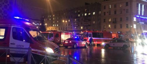 San Pietroburgo, l'area dove si è verificata l'esplosione
