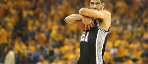 La estrella de baloncesto, Tim Duncan. - usatoday.com