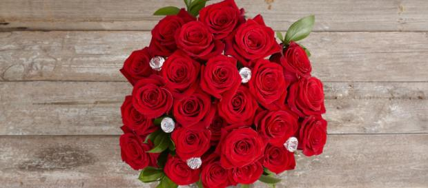 A bouquet of red roses similar to those seen on 'The Bachelor' -- ProFlowers/Flickr