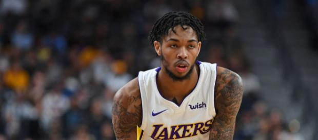 Brandon Ingram de los Lakers elogia a sus compañeros Lonzo Ball y Corey Brewer
