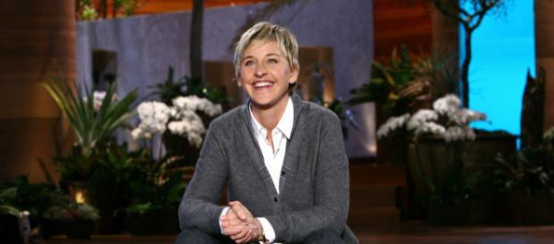 Ellen DeGeneres on the set of her daytime show. [Image via Flickr]