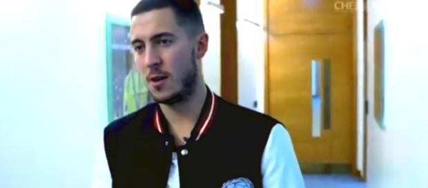 En video: ¡Eden Hazard eligió entre Messi y Ronaldo!