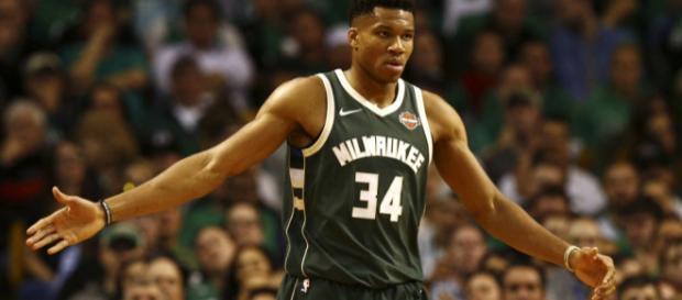 La estrella del baloncesto, Giannis Antetokounmpo. - usatoday.com