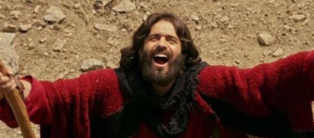 """Moisés em """"Os Dez Mandamentos"""" na Record TV"""